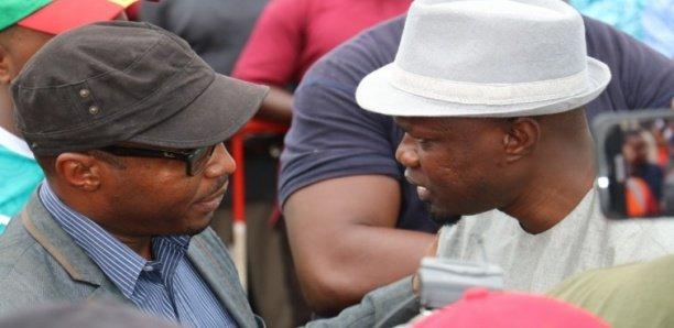 Barthelemy Dias à la Sr pour apporter son soutien à Ousmane Sonko