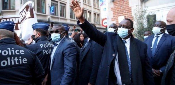 Macky Sall à Bruxelles sur invitation du président du Conseil européen Charles Michel