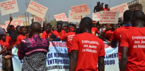 Kedougou / Marche Pour l'Emploi : Les Étudiants Exigent Le Départ De L'Inspecteur Du Travail accusé de «corruption»