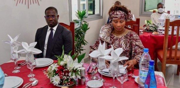 MAESE : Aissata Tall Sall réceptionne un restaurant et une la salle de sport pour les agents du ministère