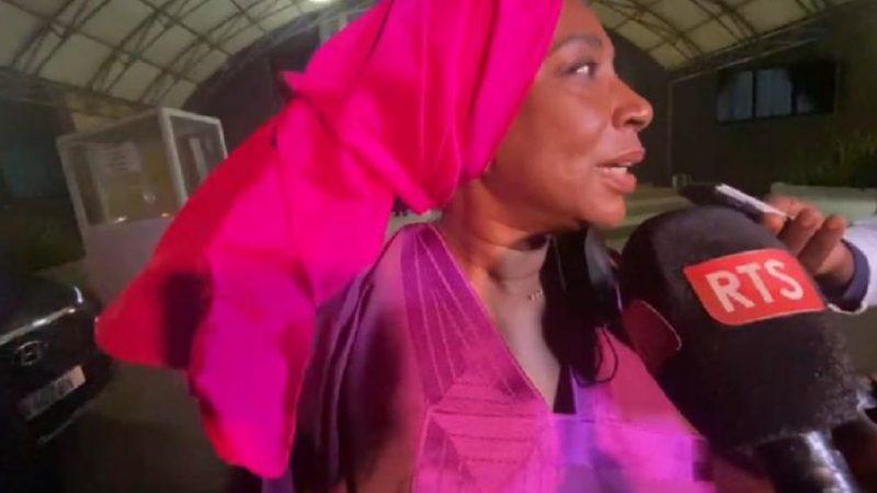 La fille aînée de Lamine Diack remercie le Jaraaf…