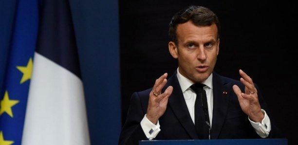 Coronavirus : Macron appelle les États-Unis à lever les interdictions à l'export sur les vaccins