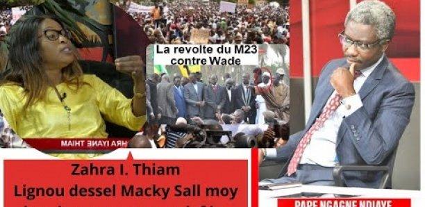 Zahra I. Thiam : «Lignou dessel Macky Sall moy louniouye wax gnou daf ko»