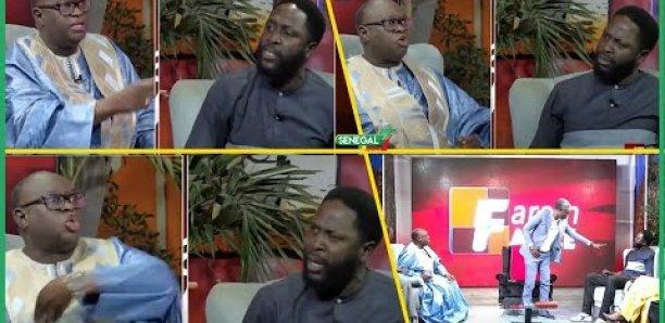 Faram Facce : Le débat entre Me El Hadj Diouf et Kilifa dégénére, l'émission suspendue
