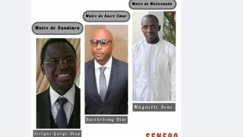 Maguette Sène, Barthélémy Dias et Serigne Gueye Diop, meilleurs maires du Sénégal…