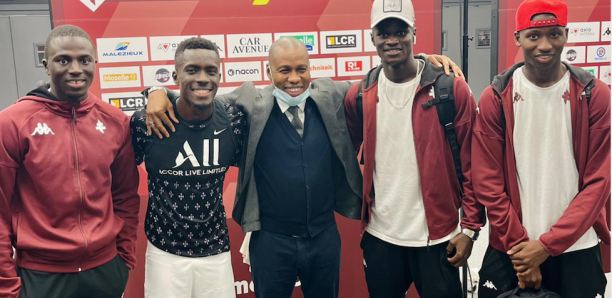 Metz-PSG : Quand Mady Toure retrouve ses poulains de GF et Gana Gueye