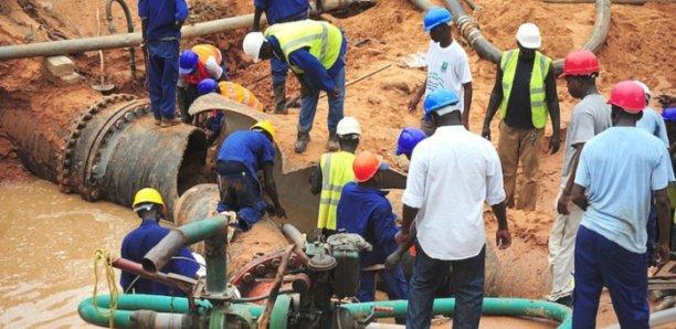 Travaux de KMS 1,2 et Lac de Guiers : Vers une perturbation dans la distribution de l'eau à Dakar et dans les régions de Thiès et Louga